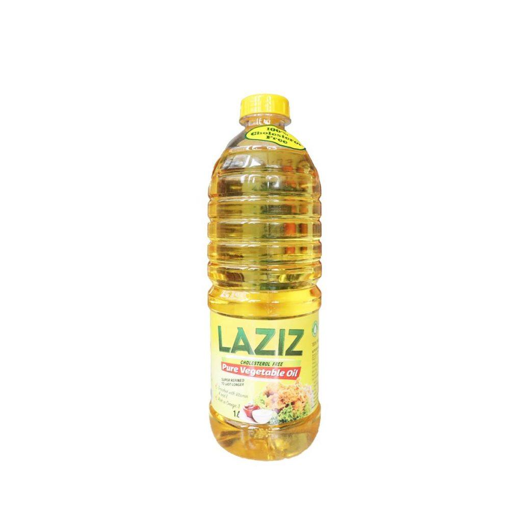Laziz Vegetable Oil 1 Liter