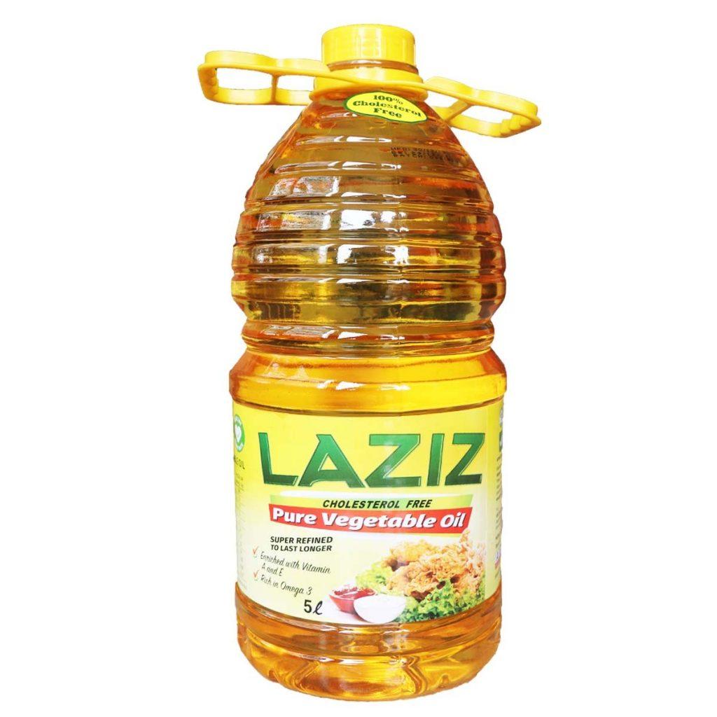 Laziz Vegetable Oil 5 Liters-1