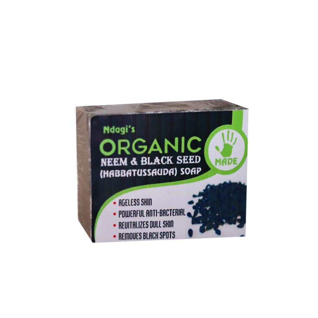 Ndagi's Organic Neem & Blackseed Soap