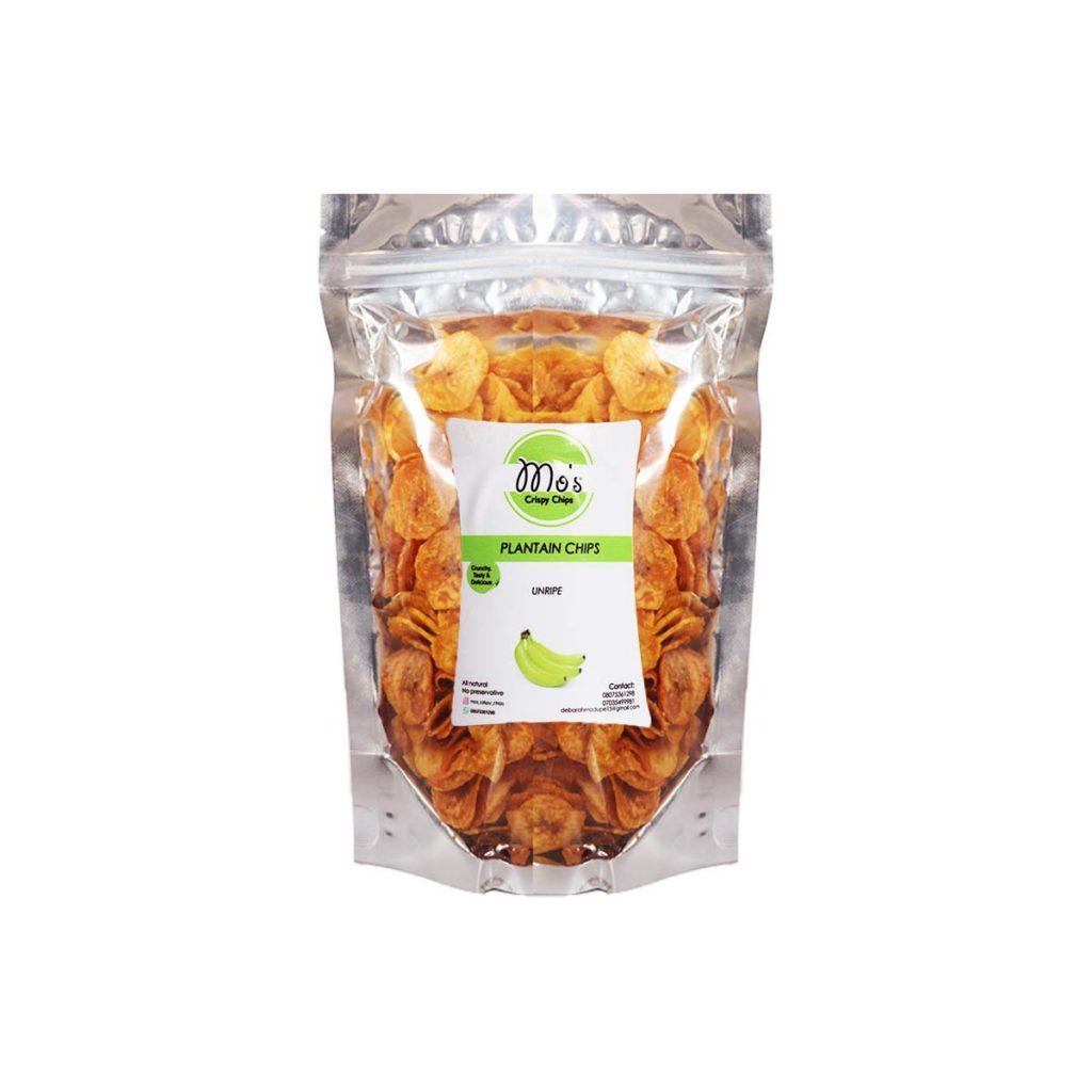 Plantain Chips Unripe 160g