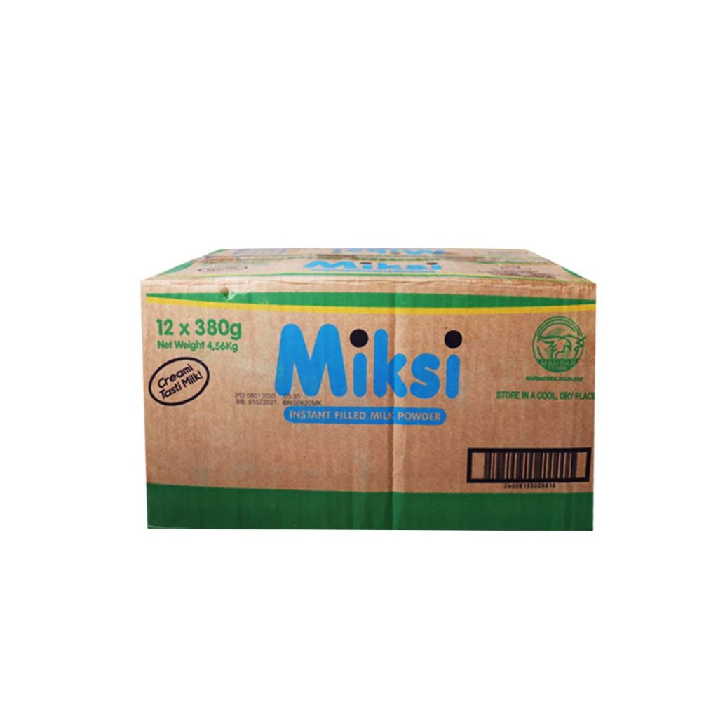 Milksi Instant Filled Milk 380g x 12