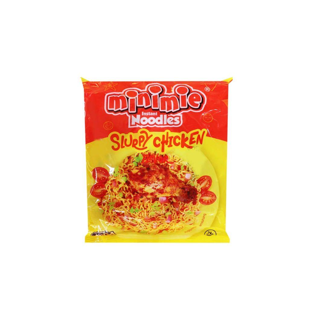 Minimie Instant Noodles Swopy Chicken Flavor 100g