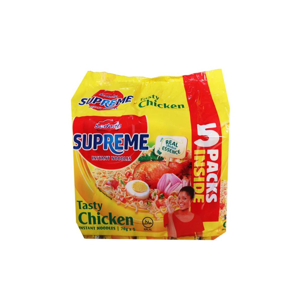 Supreme Instant Noodles Tasty Chicken 70g x 5