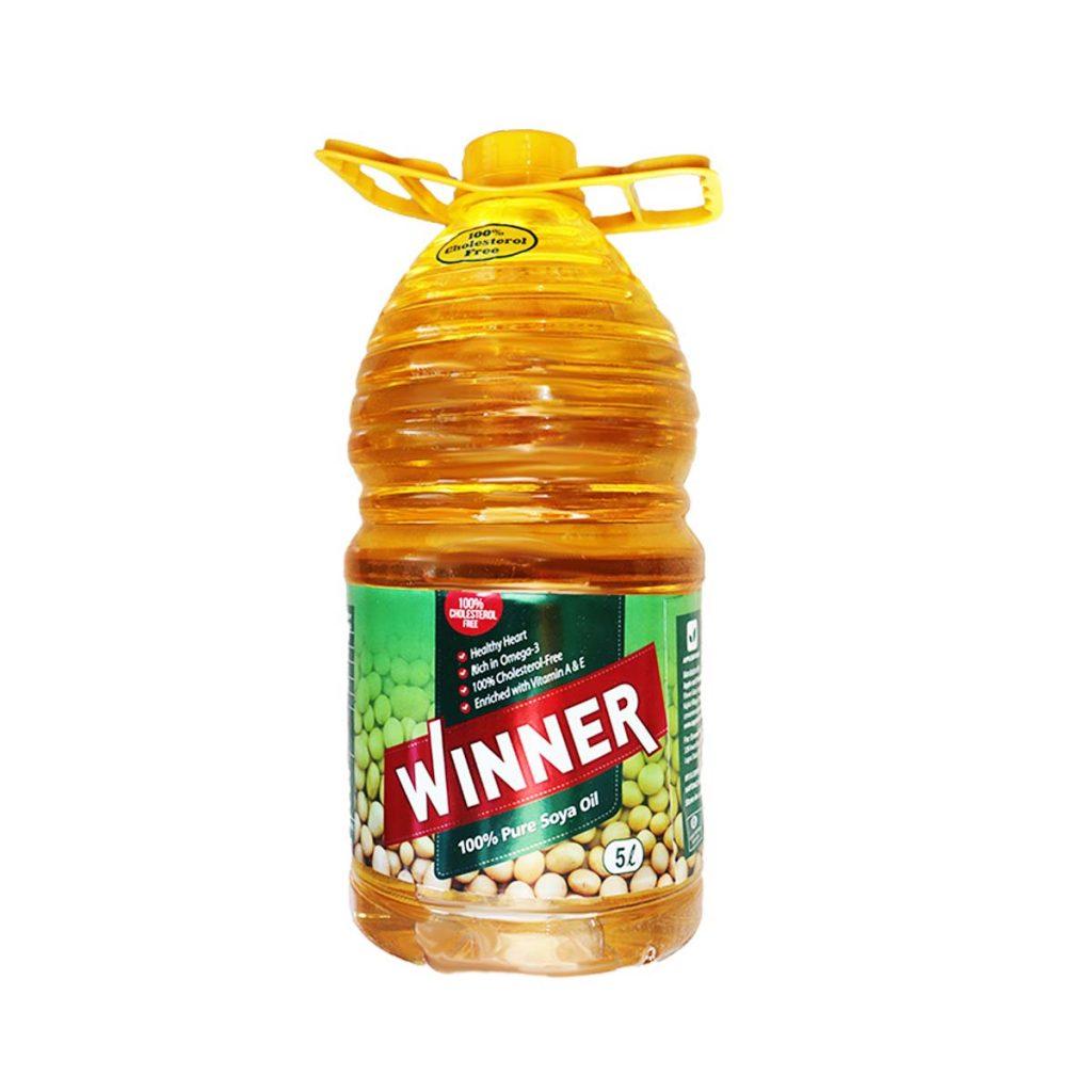 Winner Pure Soya Oil 5 Liters