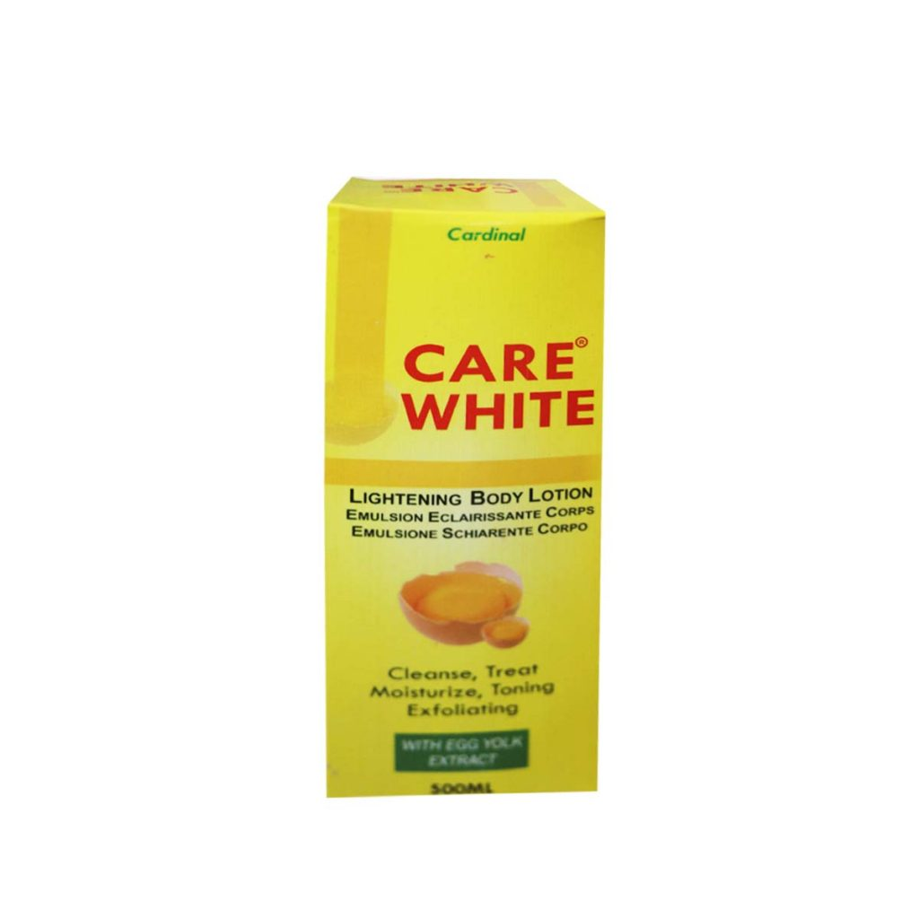 Cardinal Care White Lightening Body Lotion with Egg Yolk Extract 500ml