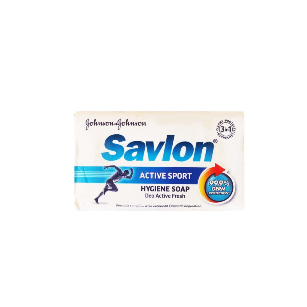 Johnson & Johnson Salvon Deo Fresh Hygiene Soap 120g