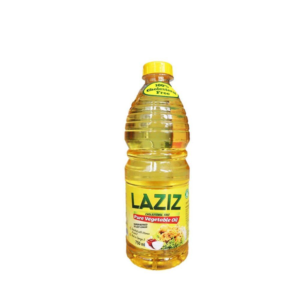 Laziz Vegetable Oil 750ml
