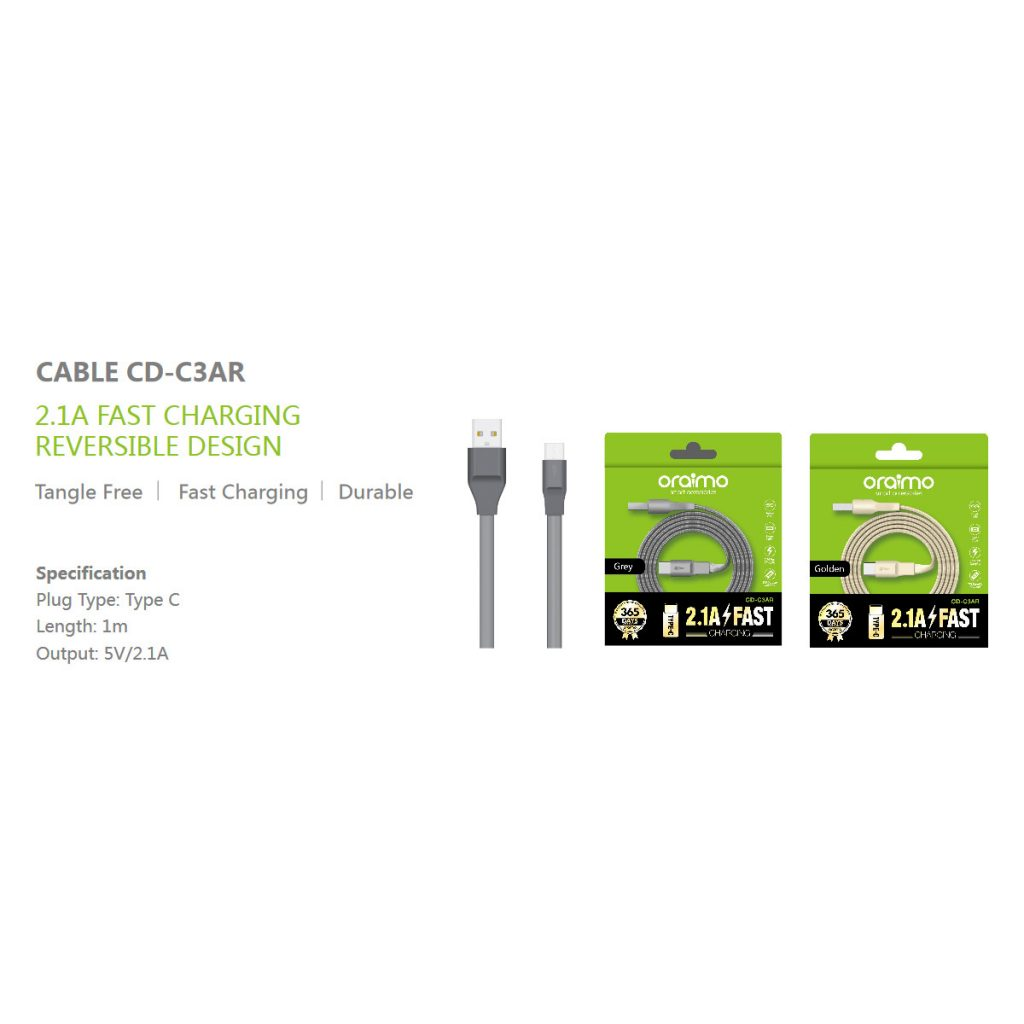 Oraimo Cable CD-C3AR Type-C