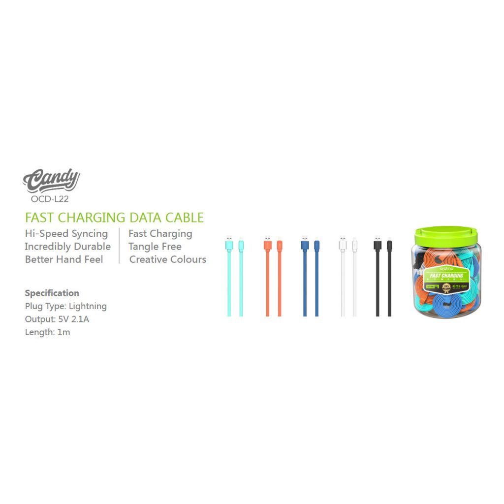 Oraimo Candy OCD-L22 Lightning Cable