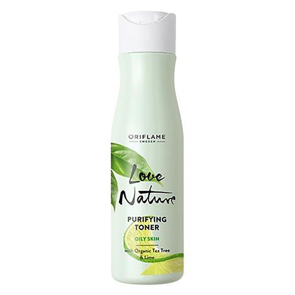 Oriflame Love Nature Purifying Toner with Organic Tea Tree Lime 150ml