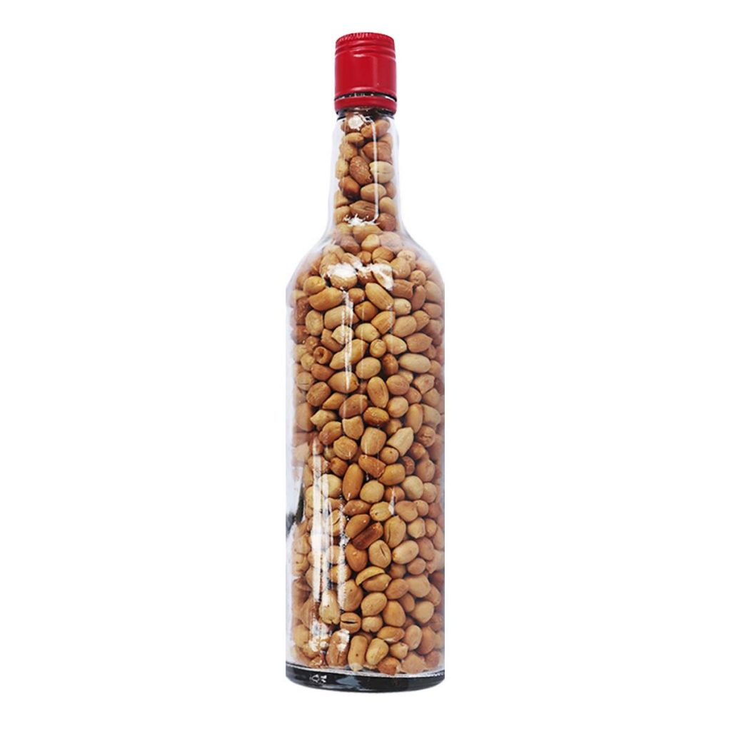 Bottle Of Groundnut