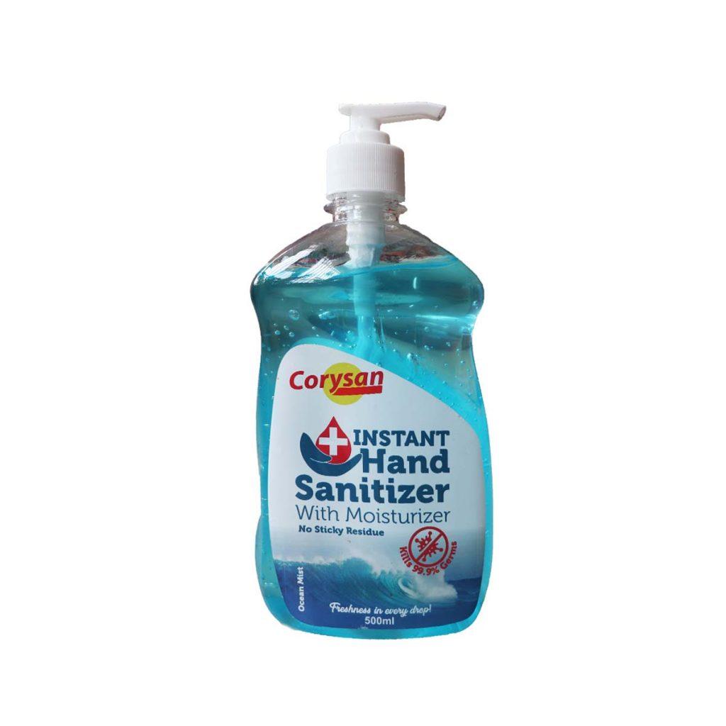 Corysan Instant Hand Sanitizer With Moisturizer 500ml