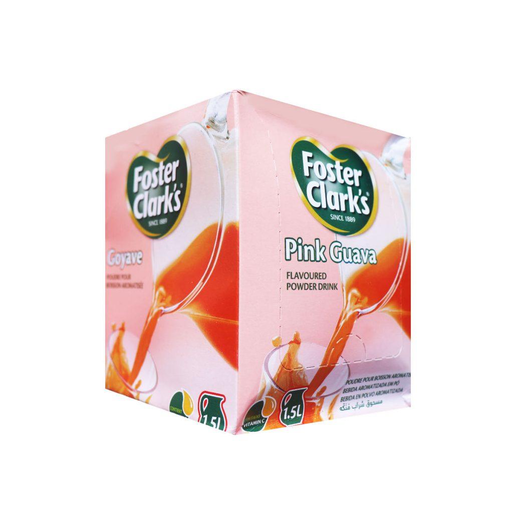 Foster Clark's Pink Guava Flavoured Powder Drink Sachet 30g x 12
