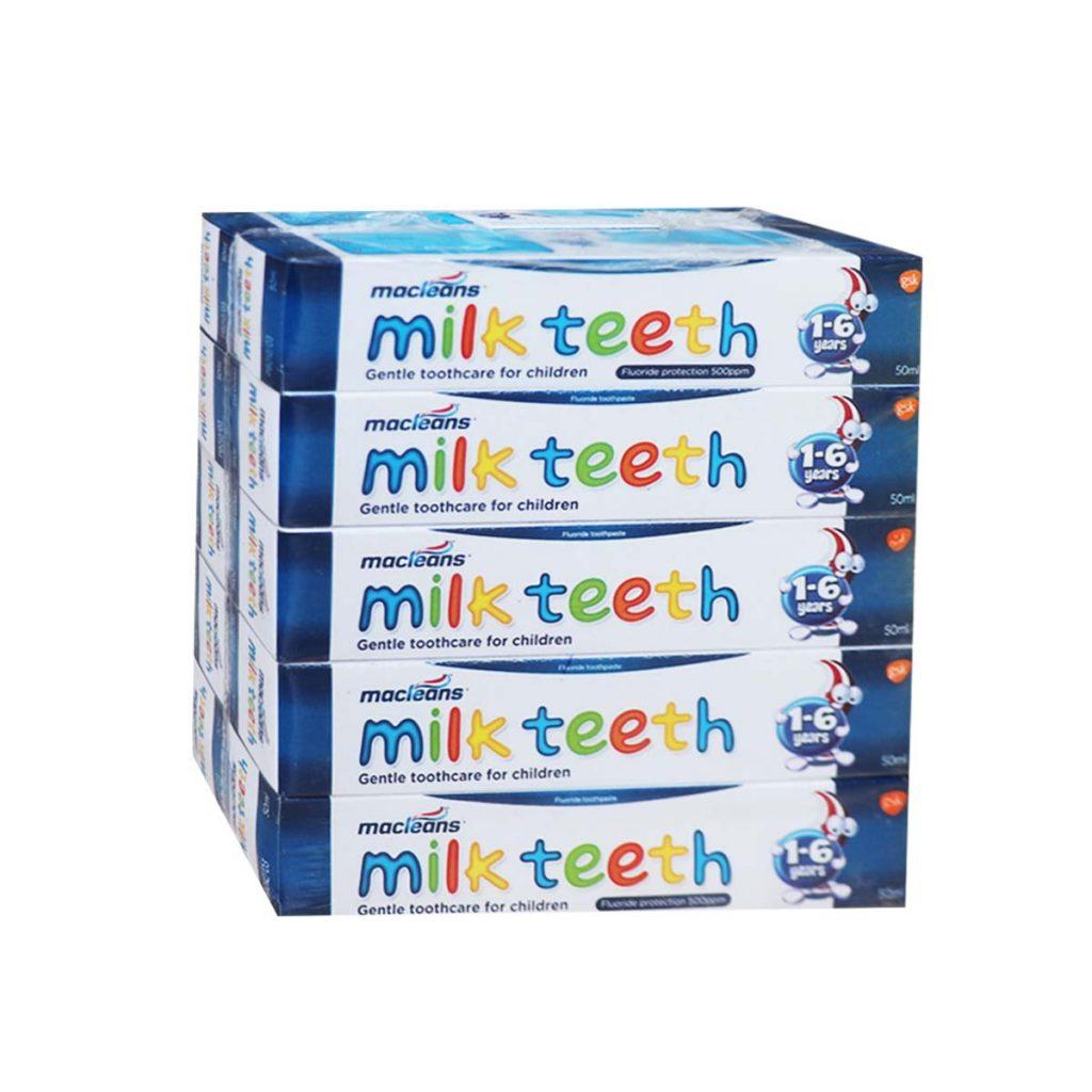 Macleans Milk Teeth Toothpaste 50ml x 10