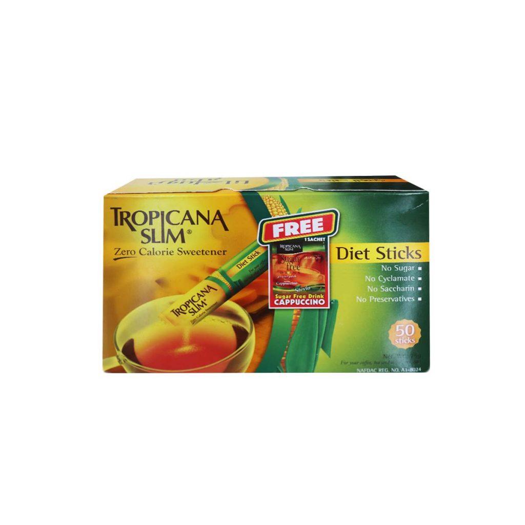 Tropicana Slim Zero Calorie Sweetener 1.5g x 50