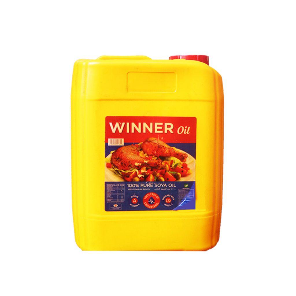 Winner Pure Soya Oil Jerrican 10 Liters